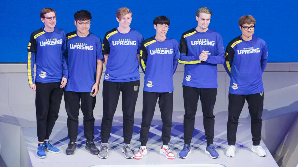 Boston Uprising's Record Breaking Stage