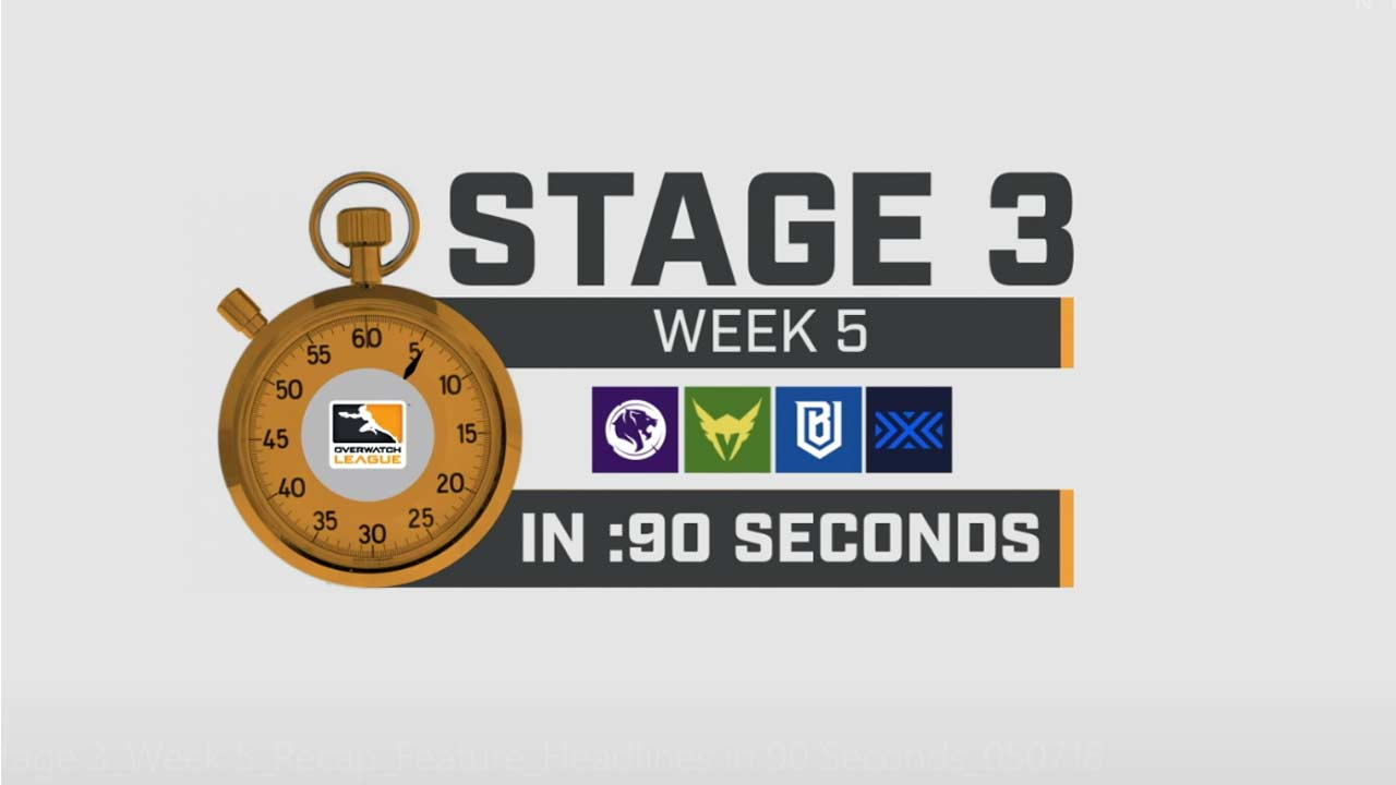 Overwatch League Stage 3 Week 5 in 90 Seconds