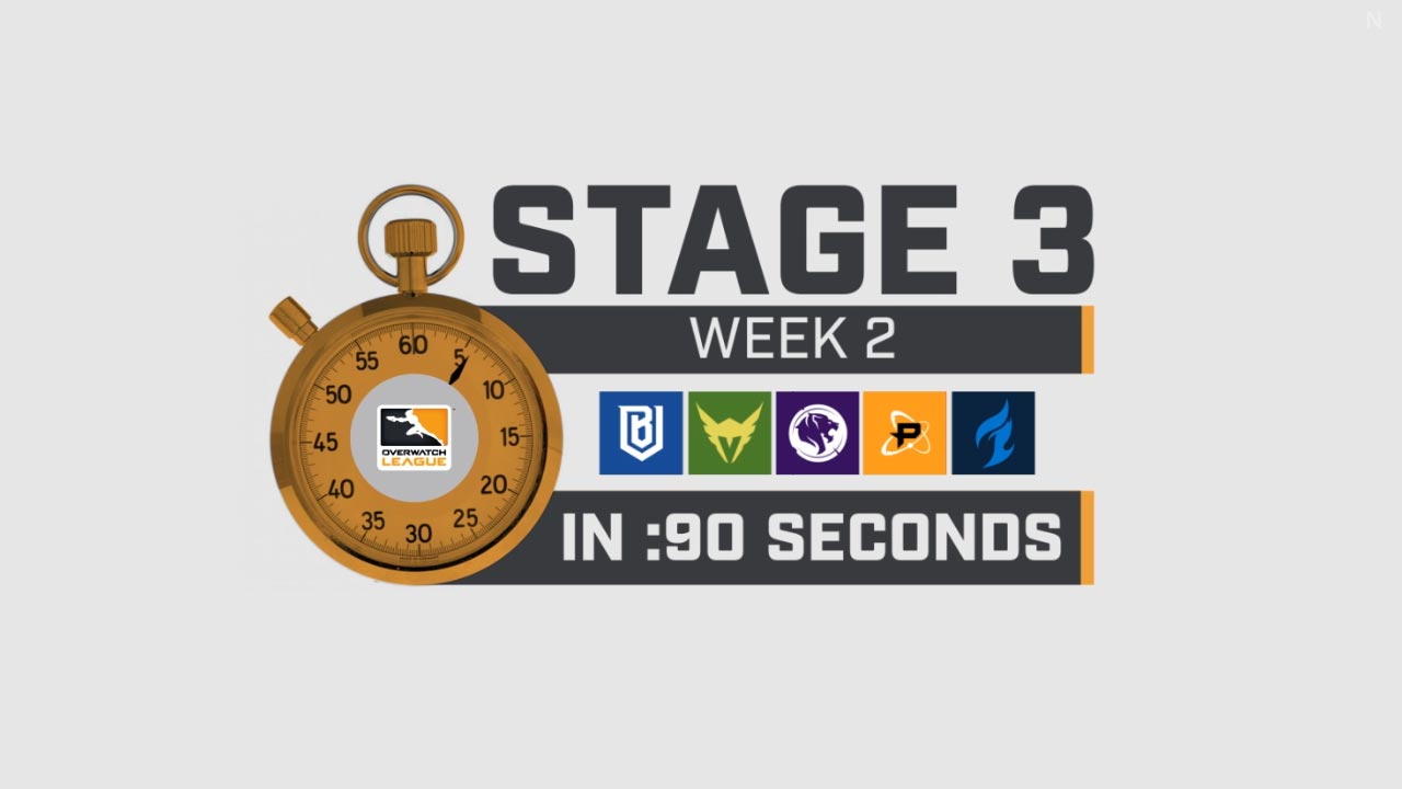 Overwatch League Stage 3 Week 2 in 90 Seconds