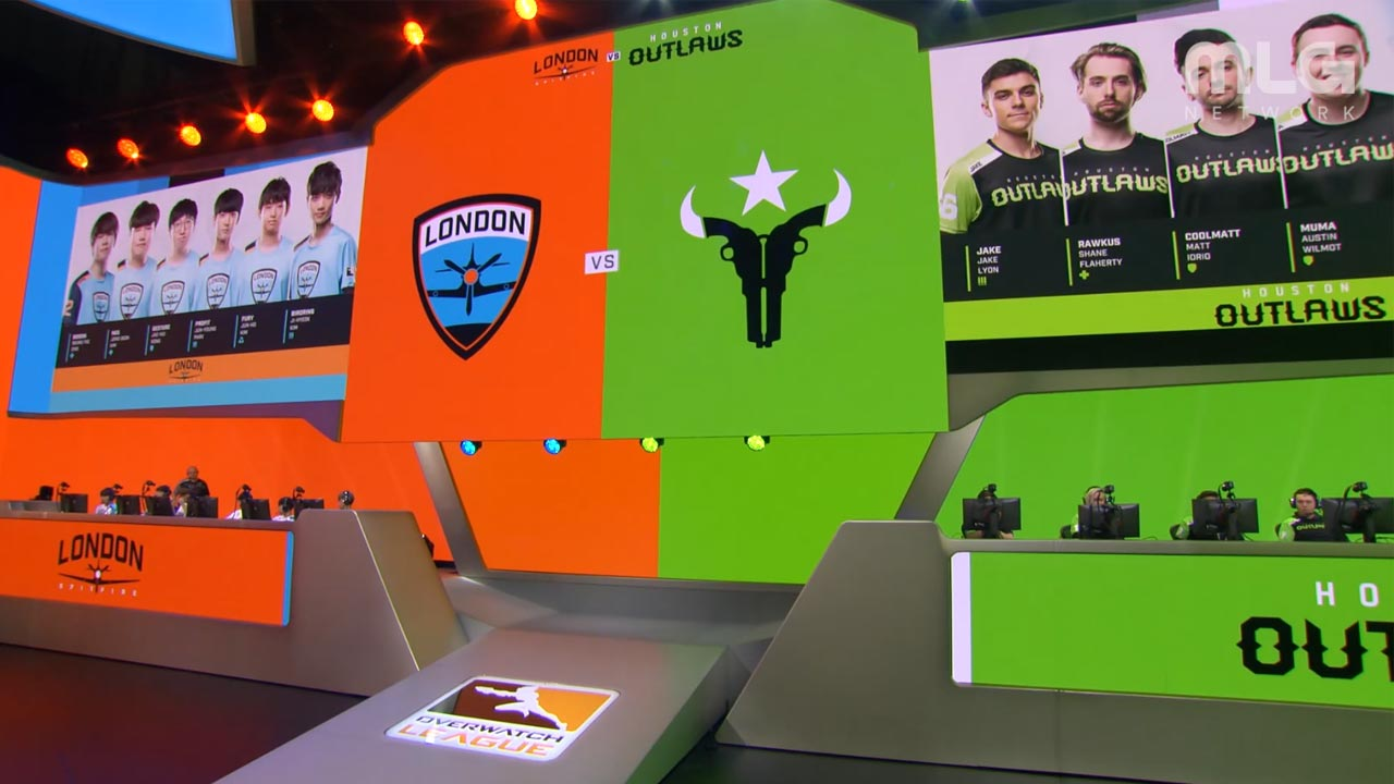 New rivals: Houston Outlaws and London Spitfire