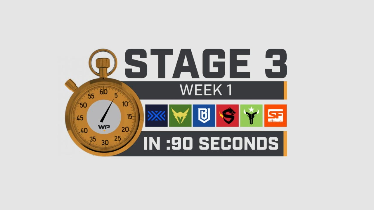 3 Week 1 in 90 Seconds!