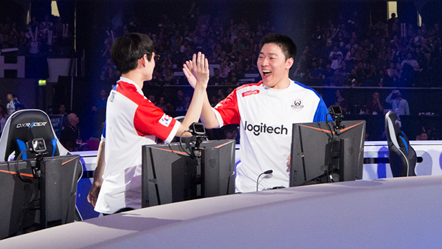 """Ryujehong: """"The strongest team is my team."""""""
